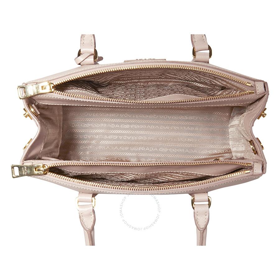 ba7586bf8ff0cb Prada Galleria Saffiano Leather Shoulder Bag- Pink - Galleria ...
