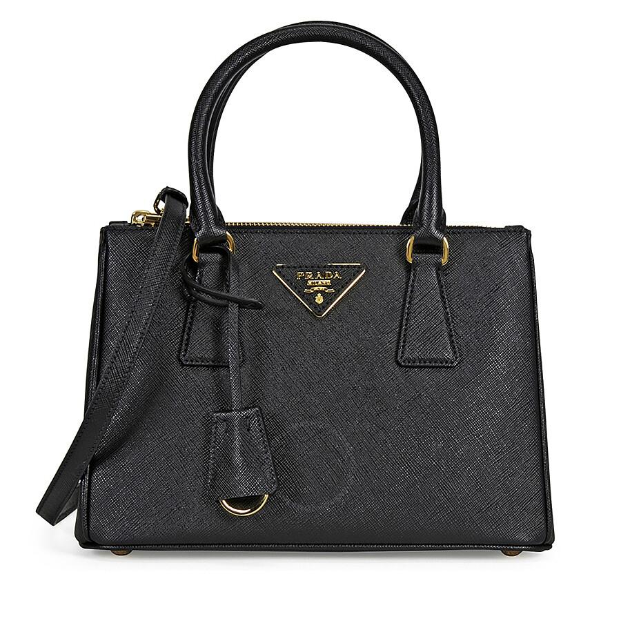 Prada Galleria Saffiano Leather Tote - Black Item No. 1BA896-NZV -F0002 f724f87fca0ba