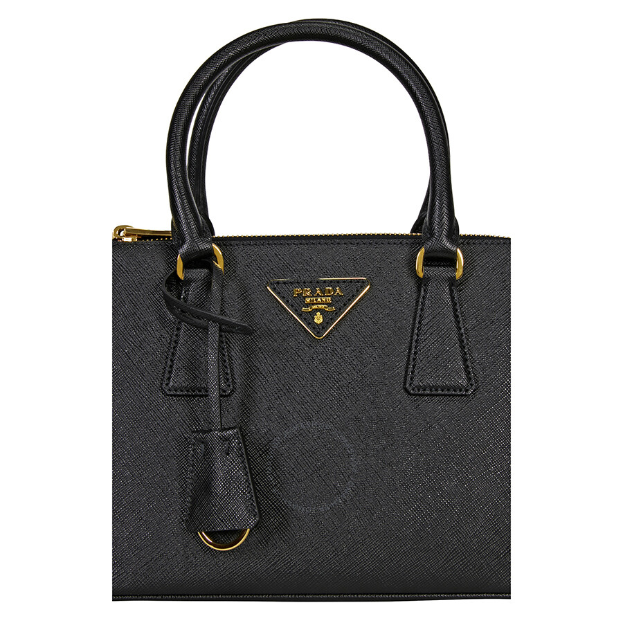 7c6438f6a9 Prada Galleria Saffiano Leather Tote - Black - Galleria - Prada ...