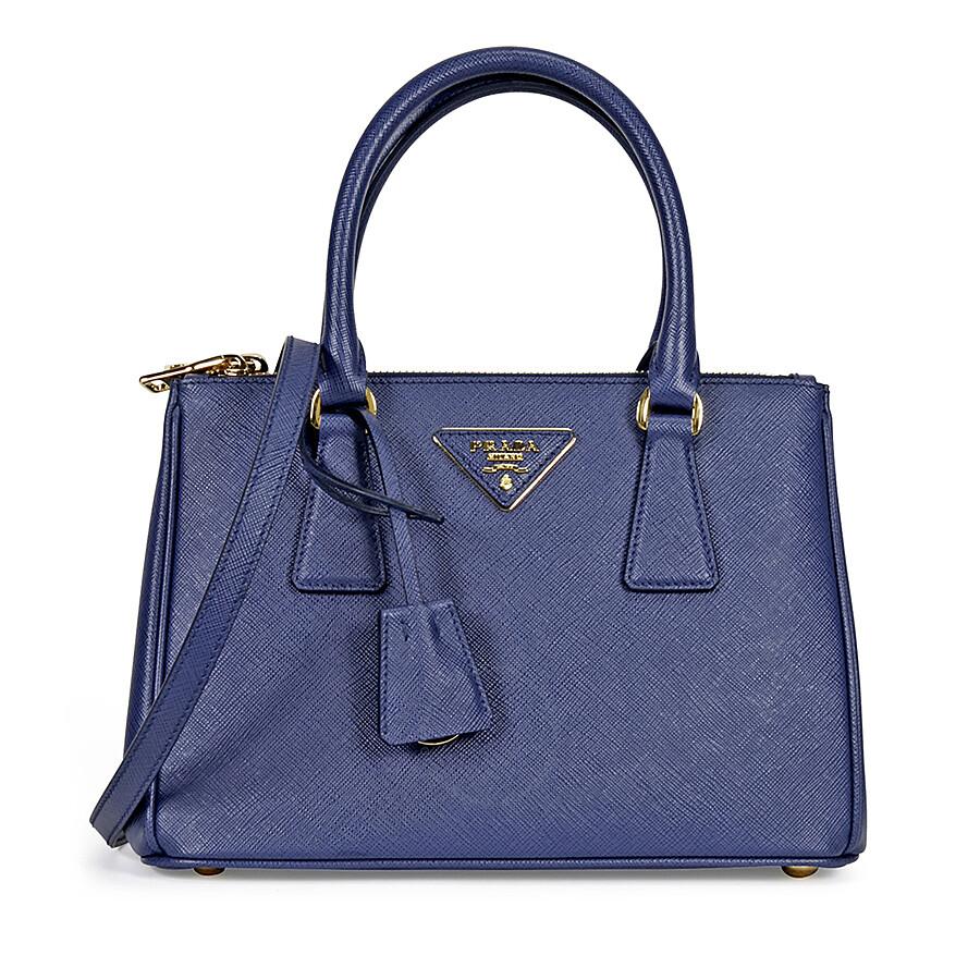 c20e7141a085 Prada Galleria Saffiano Leather Tote - Bluette Item No. 1BA896-NZV -F0016