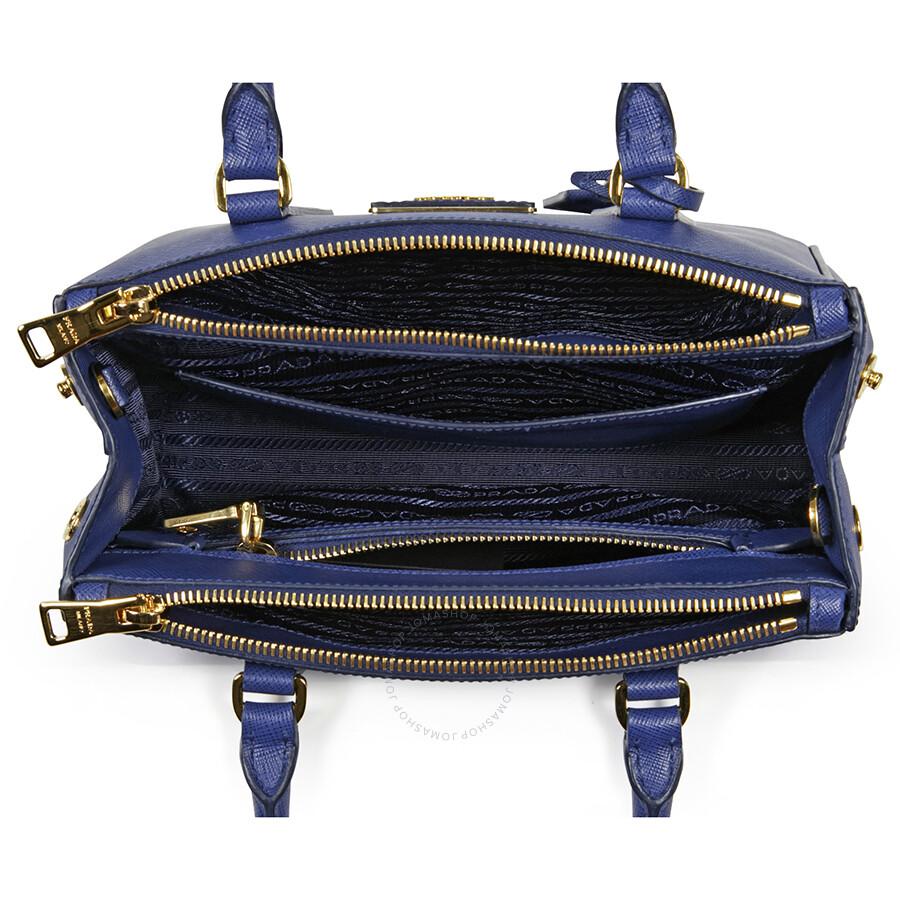 9232577d49b3 Prada Galleria Saffiano Leather Tote - Bluette - Galleria - Prada ...