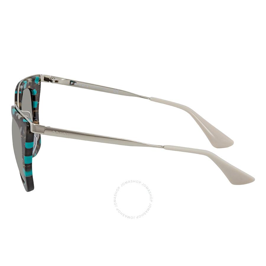 758adfc99b9 ... usa prada gradient grey mirror silver cat eye ladies sunglasses pr 53ss  kjj5o0 799c6 9a0f2