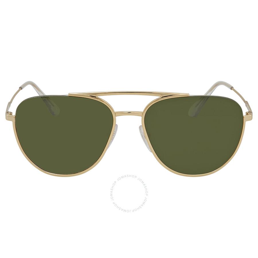 131f5cd2f0d6 Prada Green Aviator Sunglasses PR 50US 5AK1I0 56 - Prada ...