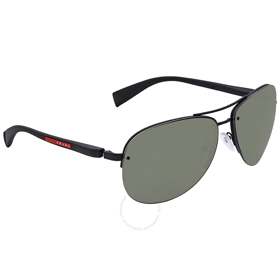 Ps Sunglasses 56ms Aviator 65 Green Prada Dg05x1 wgqUCTUx