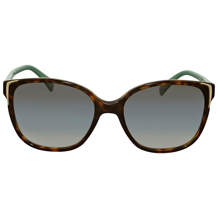 3704a596aadc Prada Green Gradient Square Sunglasses - Prada - Sunglasses - Jomashop