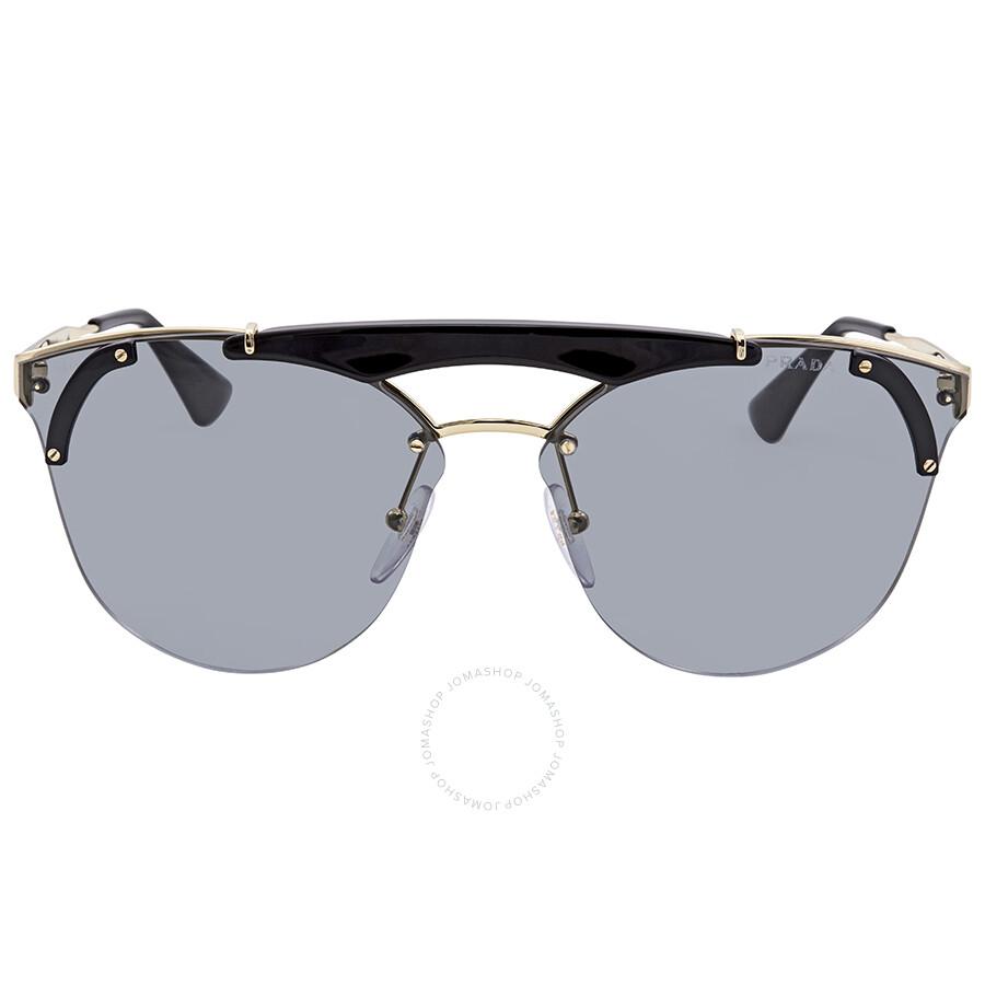400483440bfc Prada Grey Cat Eye Sunglasses PR 53US 1AB3C2 42 - Prada - Sunglasses ...