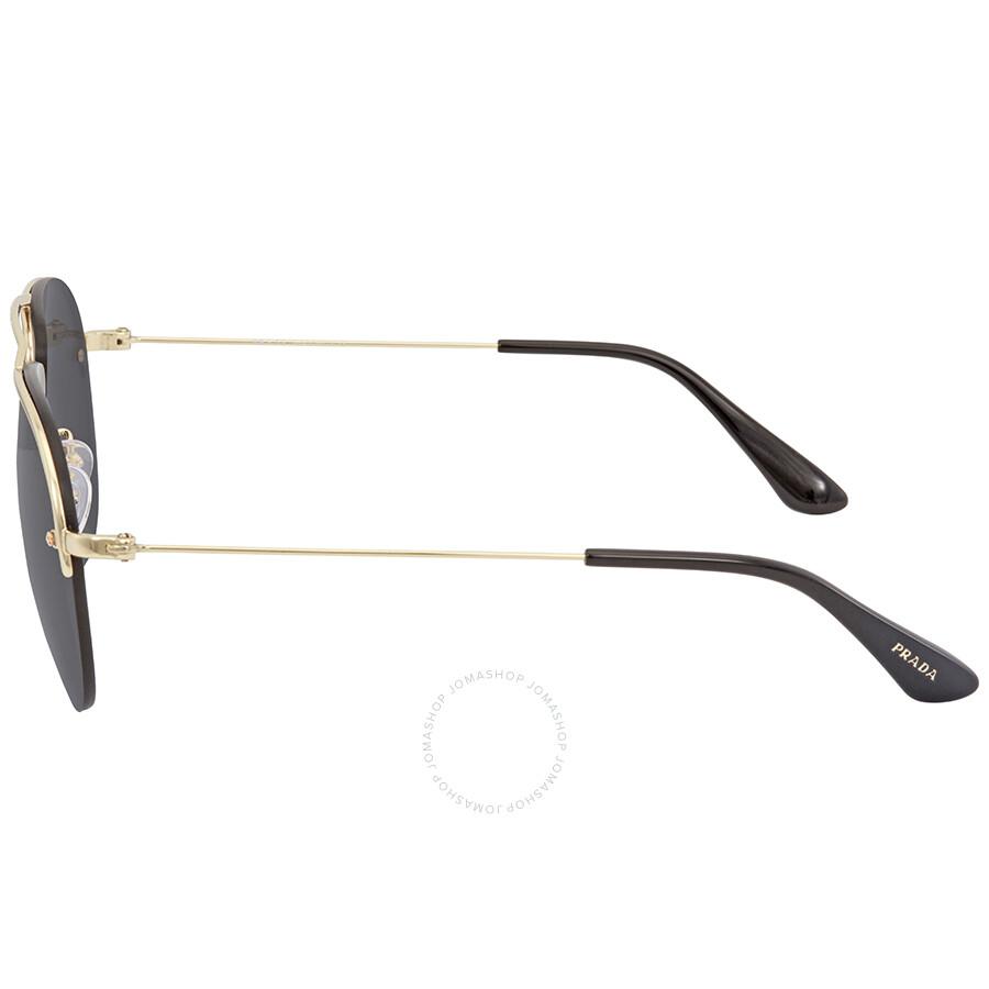 186d225835 Prada Grey Men s Sunglasses PR 58OS ZVN5S0 55 - Prada - Sunglasses ...