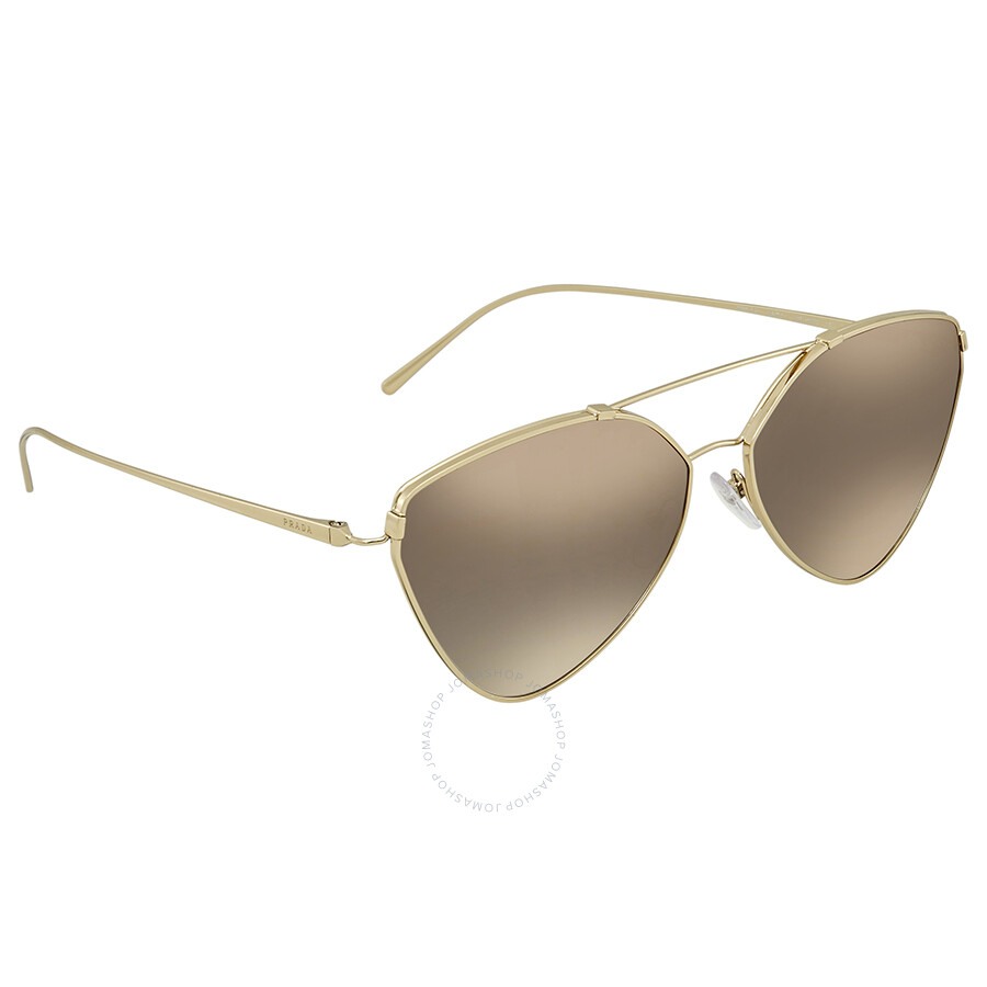 c96e6b137cd7 Prada Cat Eye Sunglasses PR 51US ZVN5O0 62 - Prada - Sunglasses ...