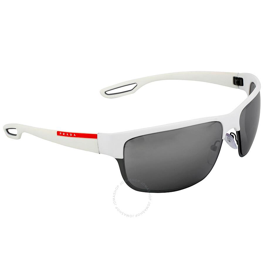 88ca011c5e Prada Grey Mirror Silver Sunglasses PS 50QS-TWK7W1-64 - Prada ...