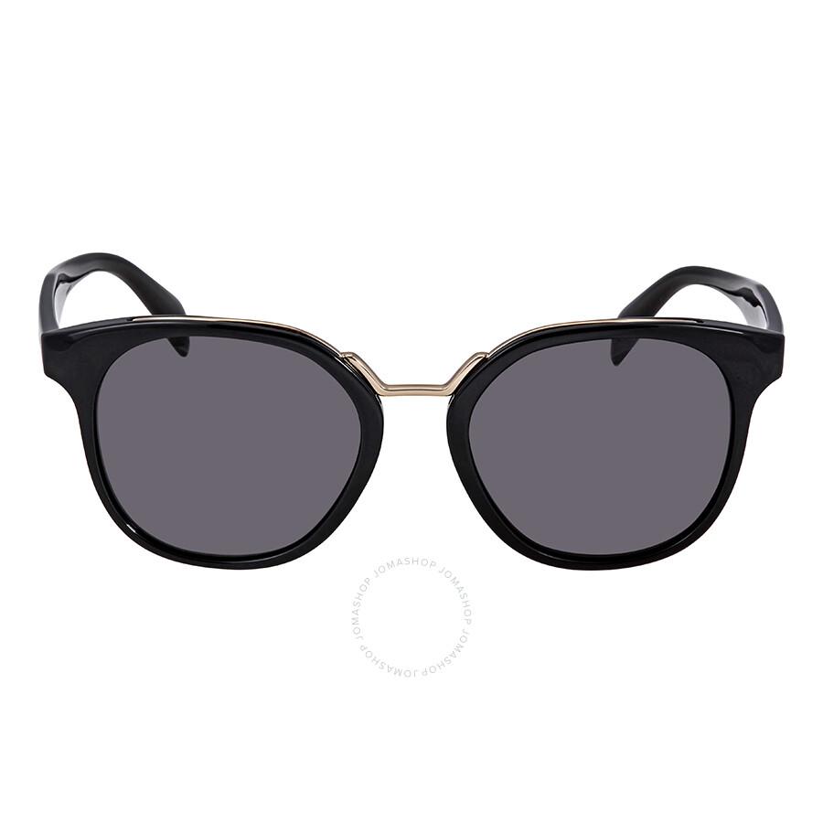 32ca1619507 Prada Grey Round Ladies Sunglasses PR-17TS-1AB5S0-53 - Prada ...
