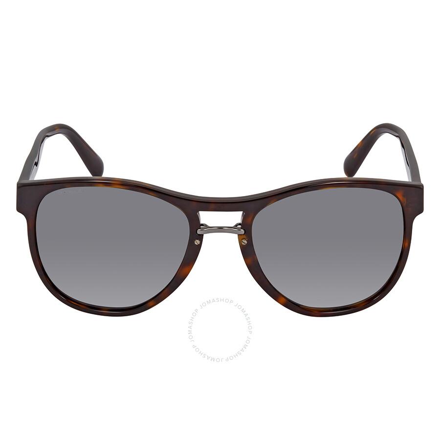 6b51352a8ce Prada Grey Square Sunglasses PR 09US 2AU9K1 55 - Prada - Sunglasses ...