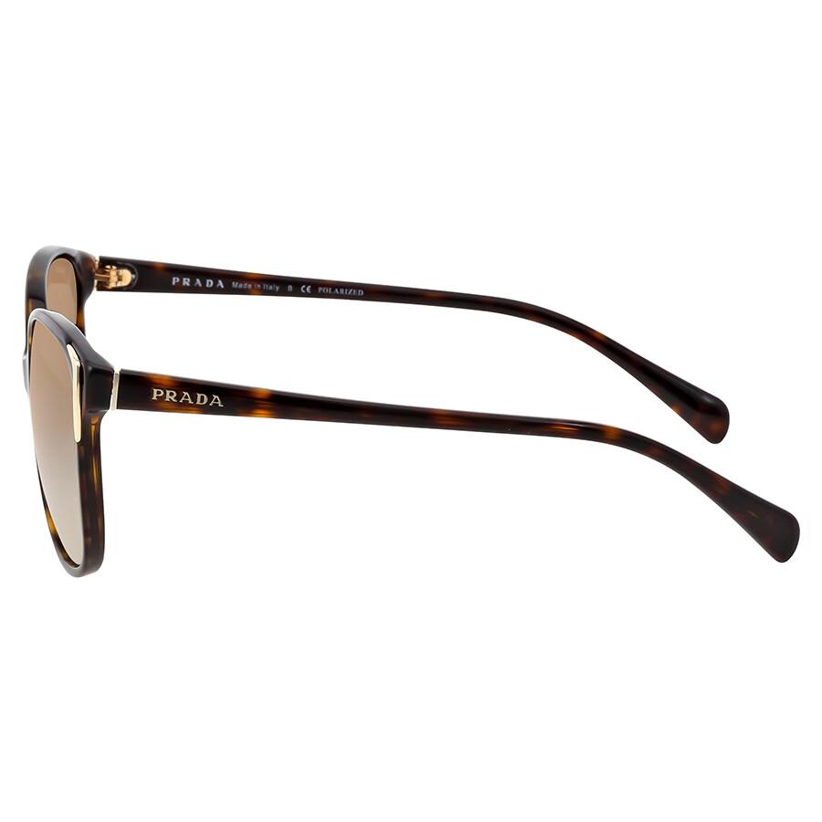 50b3de9eb49 Prada Havana Brown Plastic Sunglasses PR-01OS-2AU6E1-55 - Prada ...