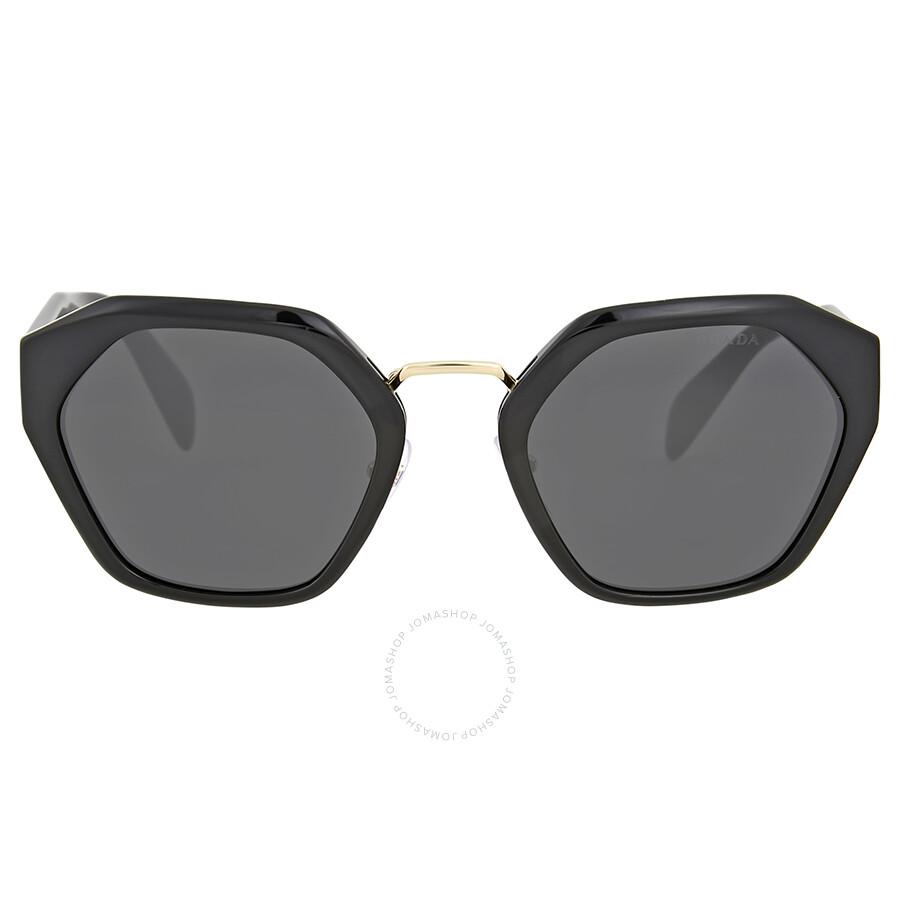 c7bee16a5a Prada Hexagon Grey Lens Sunglasses - Prada - Sunglasses - Jomashop