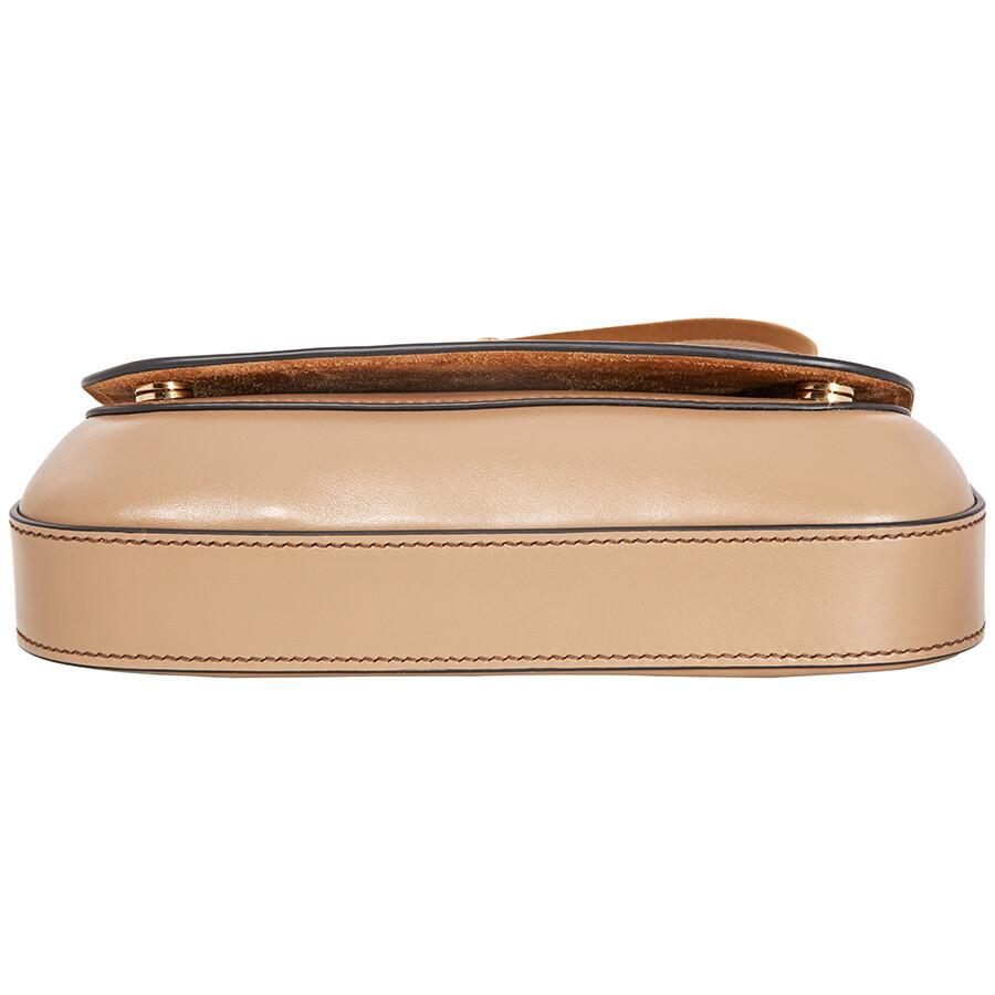 870aca97db Prada Leather Shoulder Bag- Caramel - Prada - Handbags - Jomashop