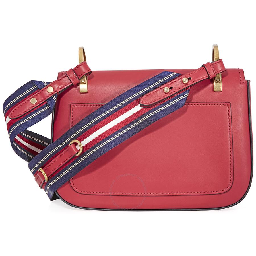 7ac0d0ab6942 Prada Leather Shoulder Bag- Red - Prada - Handbags - Jomashop