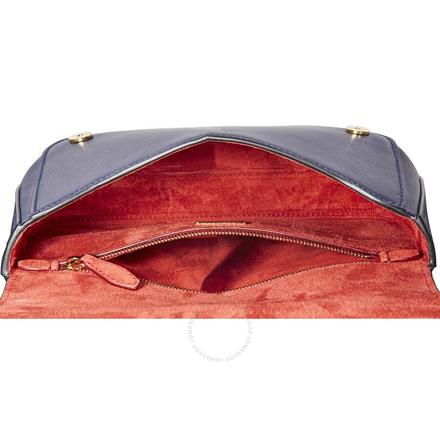 e8686313947c Prada Leather Shoulder Bag- Royal Blue - Prada - Handbags - Jomashop