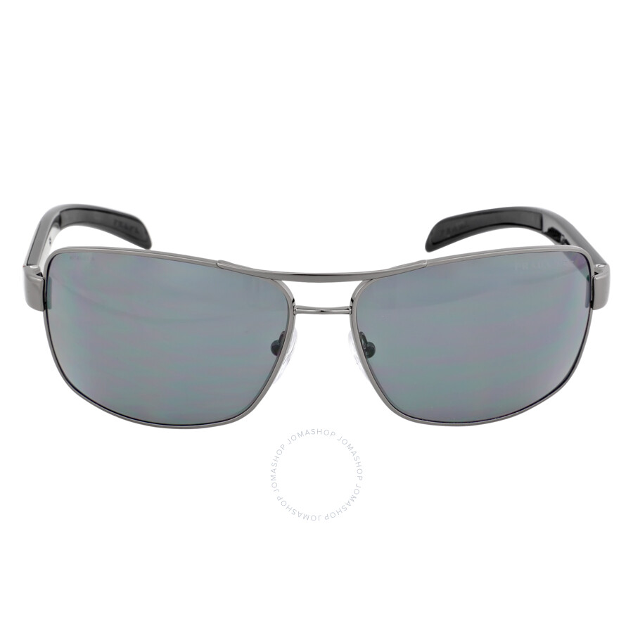 cba0bf0c5a5 Prada Lifestlye Polarized Gray Sunglasses PS 54IS-5AV5Z1-65 - Prada ...