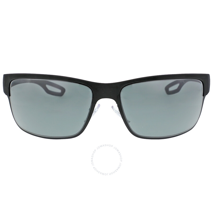 61251c7da6 Prada Lifestyle Black Rubber matte Black Sunglasses PS 50QS-DG01A1-64 ...