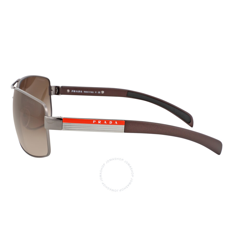 e8bce8485a5 Prada Lifestyle Brown Gradient Sunglasses PS 54IS-5AV6S1-65 - Prada ...
