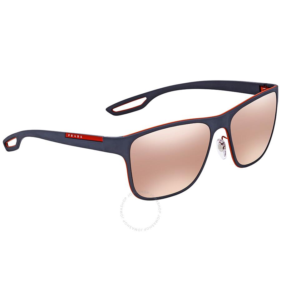 d2ddfbe8146 Prada Square Men s Sunglasses PS 56QS VHL6Q2 56 - Prada - Sunglasses ...