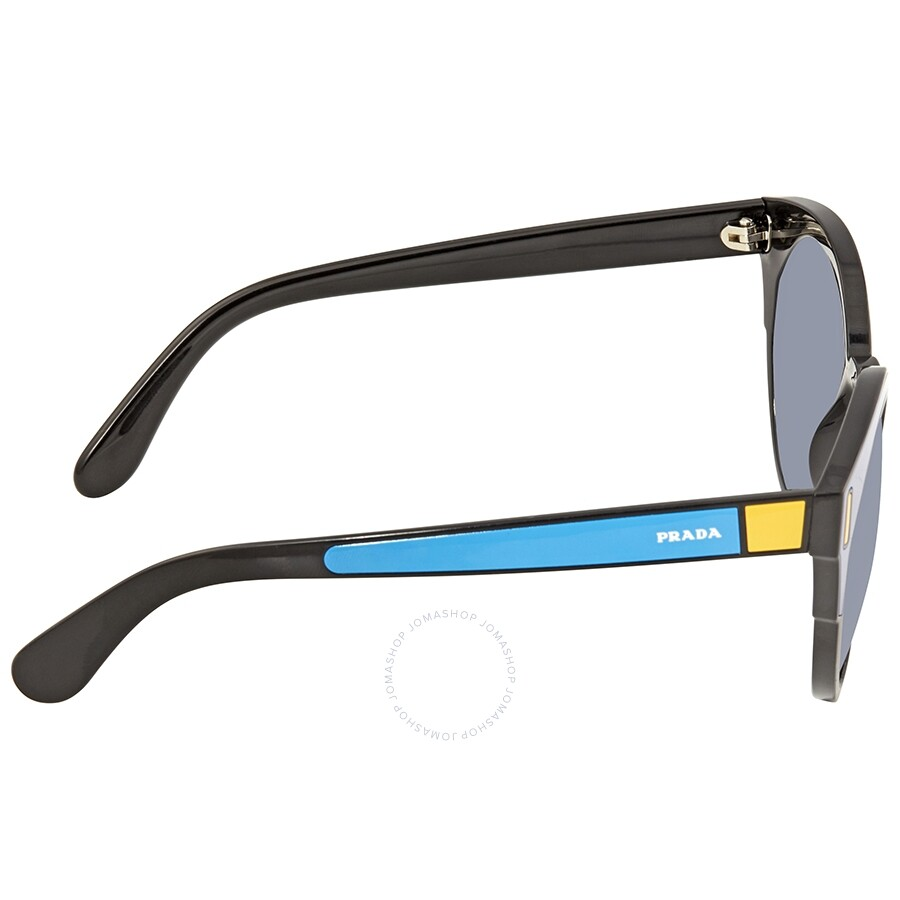 9c2e8edf5bc Prada Light Grey-Blue Gradient Round Sunglasses PR 03US SUI3A0 53 ...