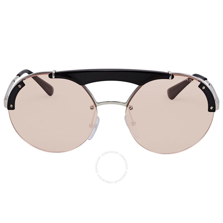 74cfadc0ad89 ireland buyprada pr 08ts minimal baroque round sunglasses black online at  johnlewis 0f7c4 3b597; order prada round sunglasses pr 52us 1ab4q0 37 cb18e  3d1c2