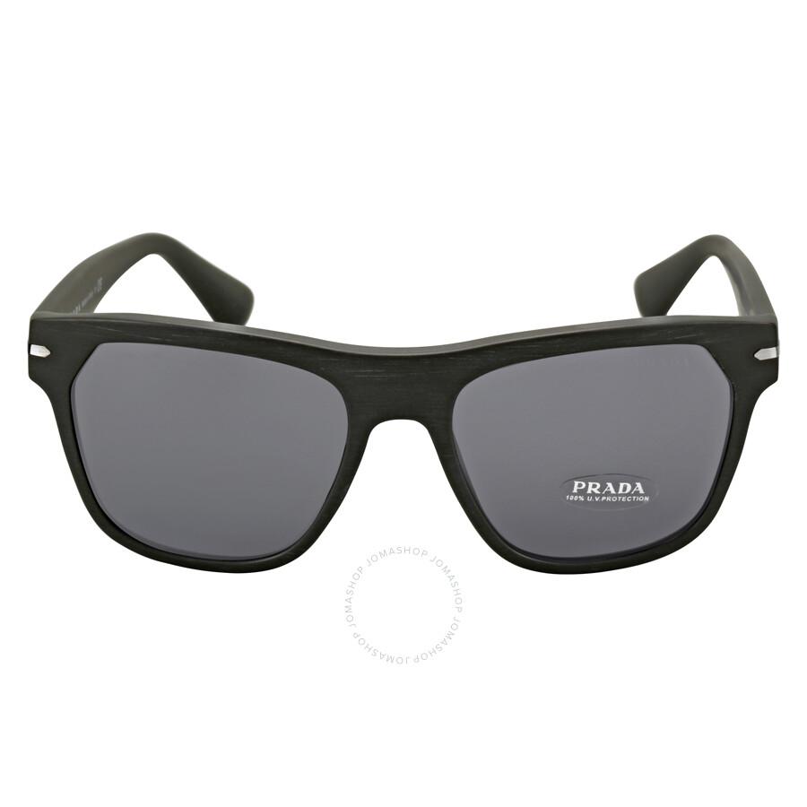 be37041e13 Prada Linea Rossa Black Square Frame Men s Sunglasses Item No. 03RS -TB41A1-55