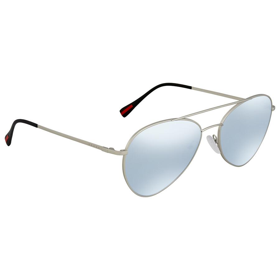 829bbed44839 Prada Linea Rossa Aviator Men s Sunglasses PS50SS 1AP5Q0 60 - Prada ...