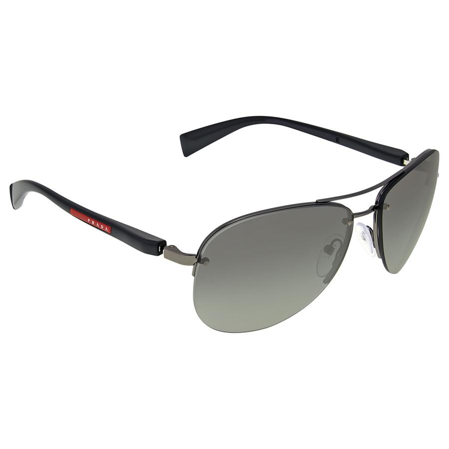 f01daf0204641 Prada Linea Rossa Grey Gradient Sunglasses - Prada - Sunglasses ...