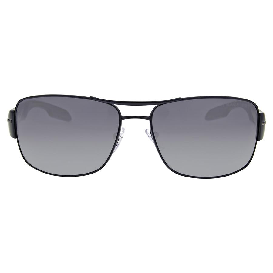 ef78e3a603 Prada Linea Rossa Grey Gradient Polarized Sunglasses Item No. 0PS  53NS-7AX5W1-65