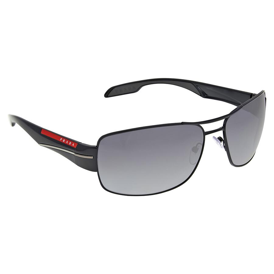 01de688df649 Prada Linea Rossa Grey Gradient Polarized Sunglasses - Prada ...