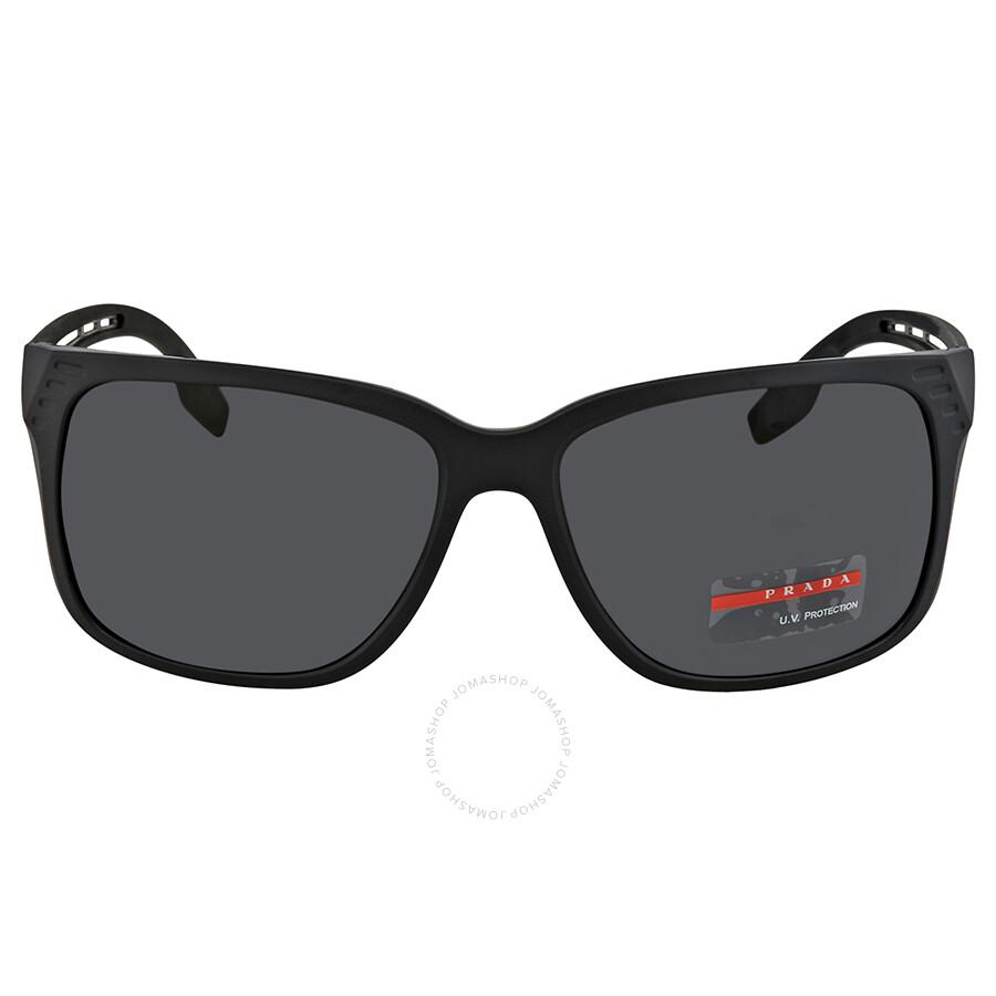 75ea1e87e8 ... Prada Linea Rossa Grey Rectangular Men s Sunglasses PS 03TS 1BO5S0 59  ...