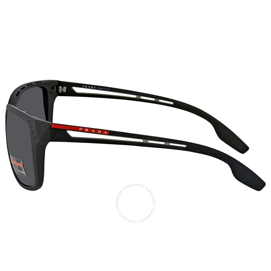 00ae9828cbca ... Prada Linea Rossa Grey Rectangular Men s Sunglasses PS 03TS 1BO5S0 59