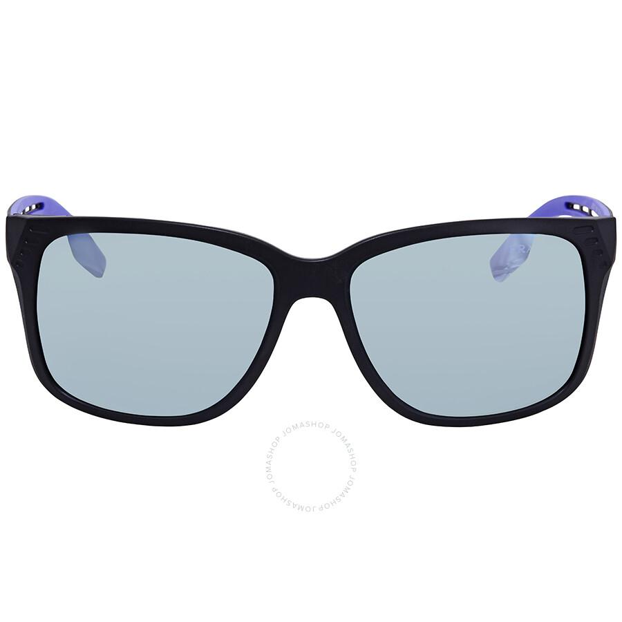 bb3f2efe7617 ... Prada Linea Rossa Grey Violet Mirror Rectangular Sunglasses PS 03TS  1BO140 59 ...