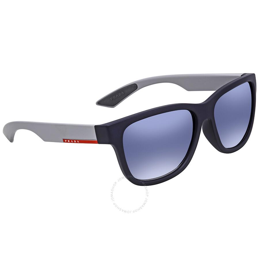 cae49b4afe364 Prada Linea Rossa Light Grey Gradient Blue Square Men s Sunglasses  PS03QSF-UR73A0-59 ...