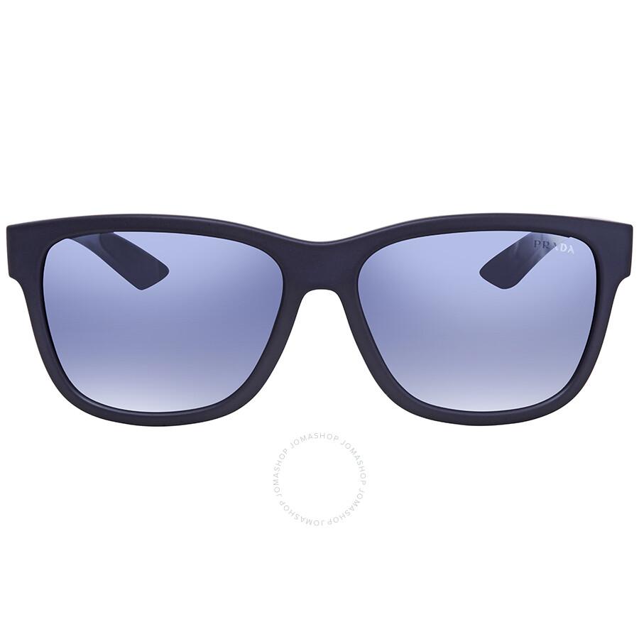 03b17a3605 ... Prada Linea Rossa Light Grey Gradient Blue Square Men s Sunglasses  PS03QSF-UR73A0-59 ...