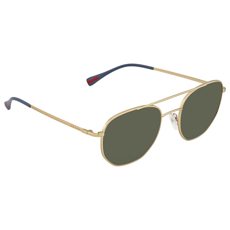 6fa920ed7255 Prada Linea Rossa Linea Rossa Green Aviator Men s Sunglasses  PR-PS56SS-1BK1I0-53 ...
