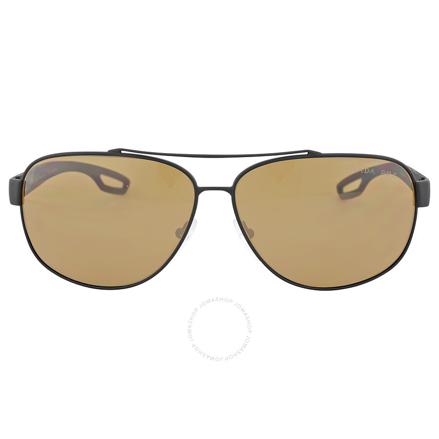 9198f600c5 Prada Linea Rossa Polarized Brown Lens Sunglasses PS 58QS-DG05Y1-63 ...