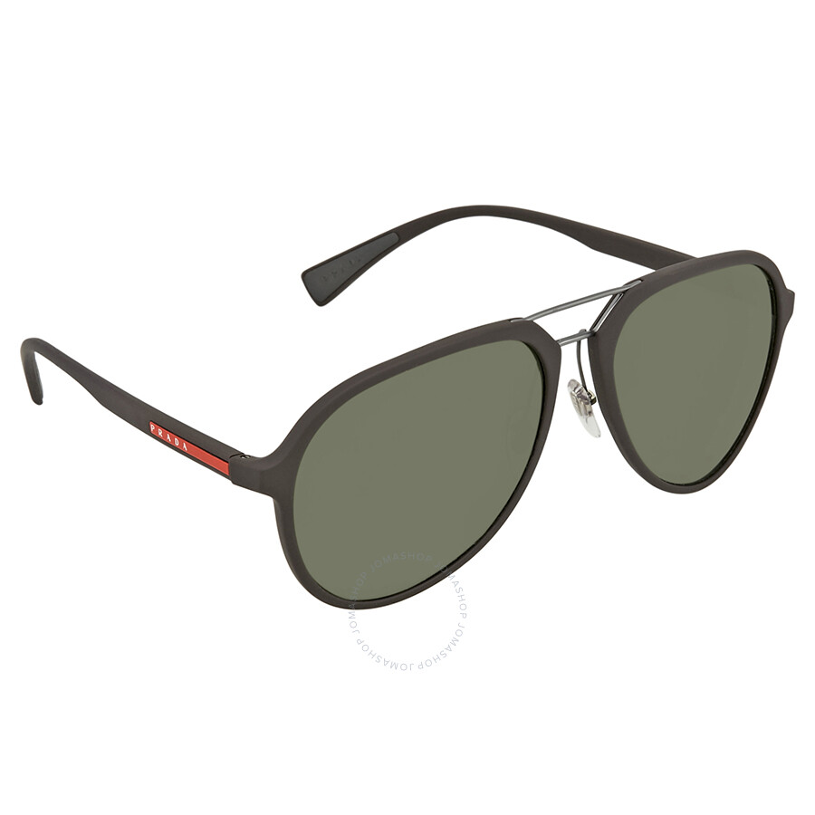 1ba2686653 Prada Linea Rossa Polarized Green Men s Sunglasses PS 05RS UB05X1 58 ...