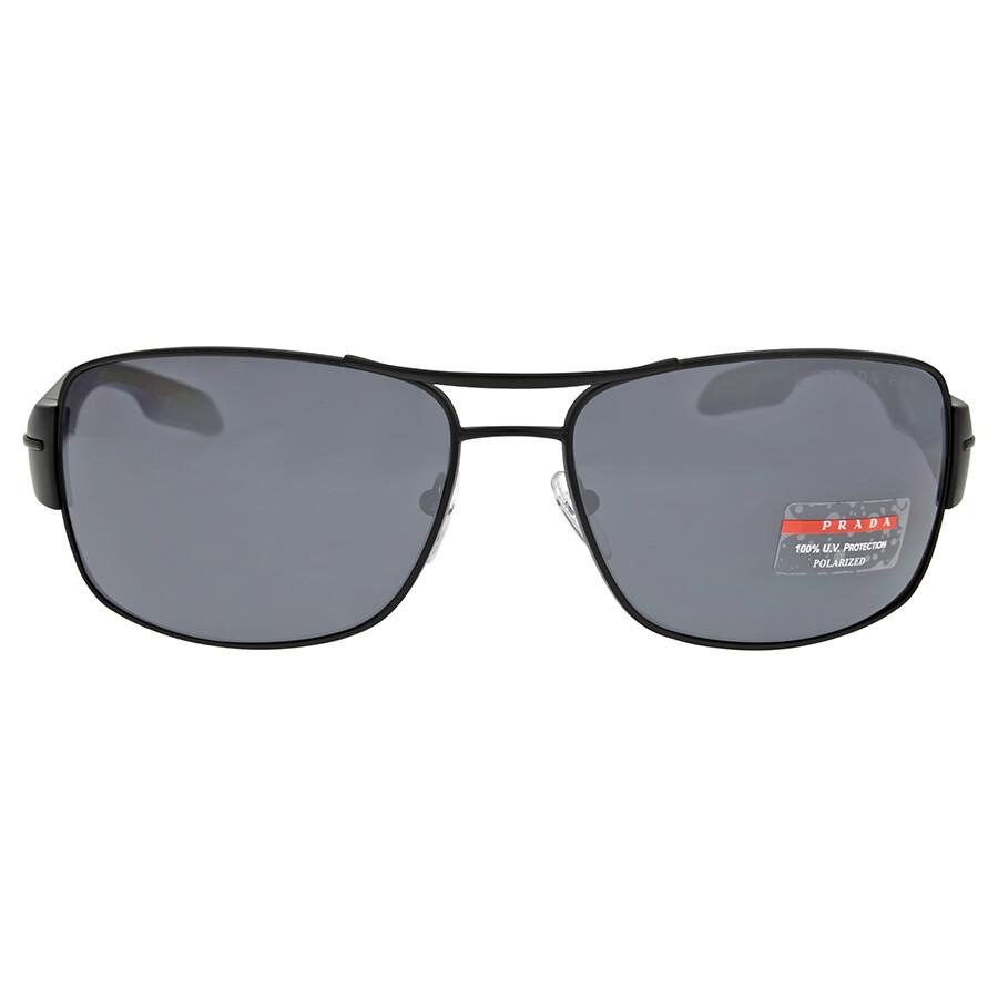 c739456692a4e Prada Linea Rossa Polarized Grey Sunglasses Item No. 0PS 53NS-1BO5Z1-65