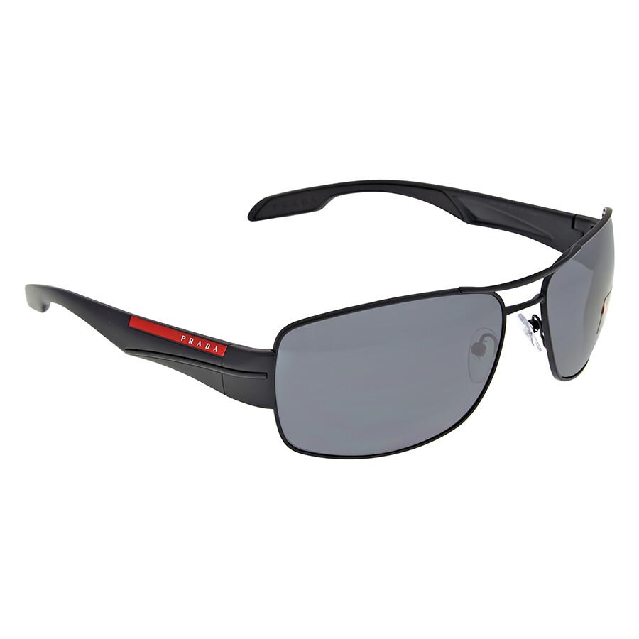 4c75adab3424d Prada Linea Rossa Polarized Grey Sunglasses - Prada - Sunglasses ...