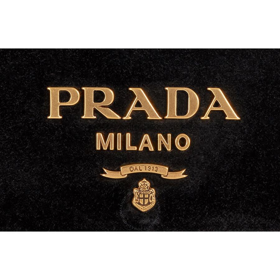 prada logo velvet clutch black prada handbags jomashop