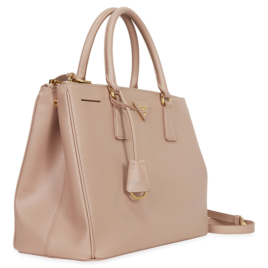 8aa7544c61c0 Prada Lux Large Double Zip Saffiano Leather Tote - Cammeo - Lux ...