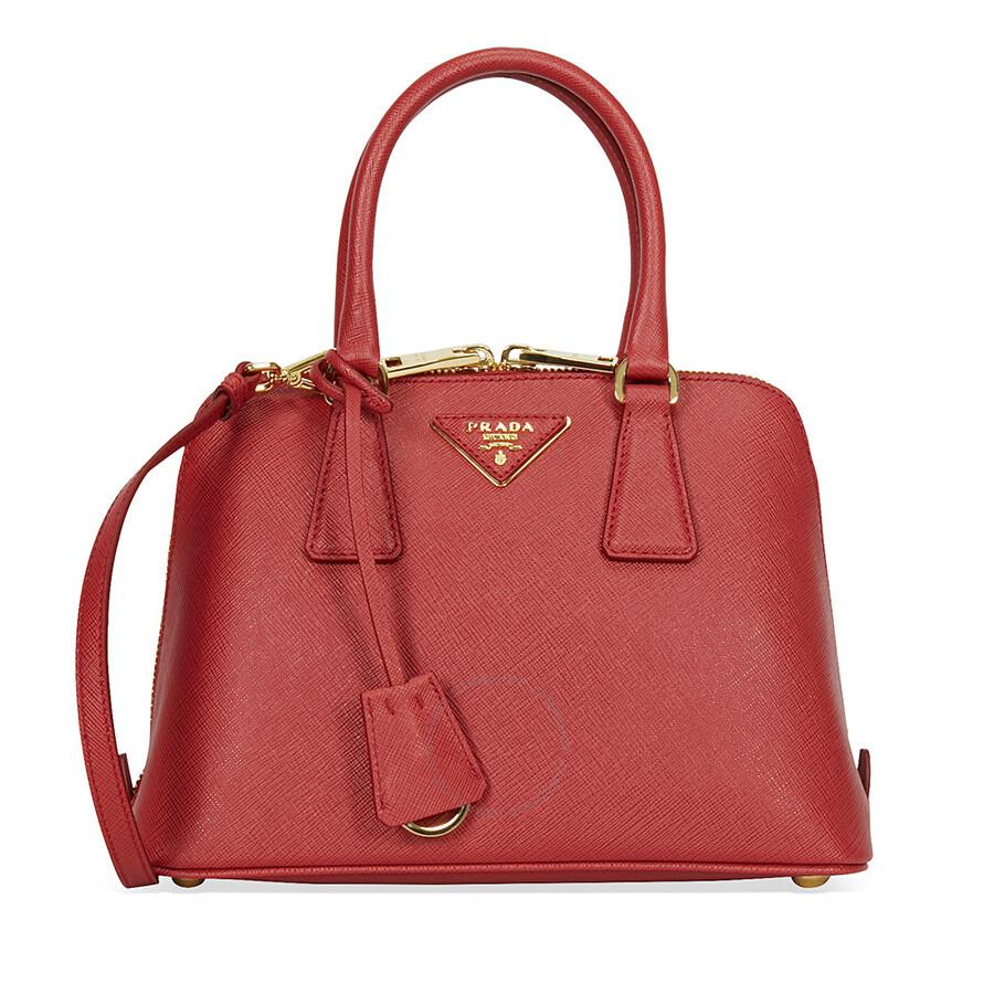 1228eccc0b21 Prada Lux Saffiano Leather Tote - Fuoco - Lux - Prada - Handbags ...