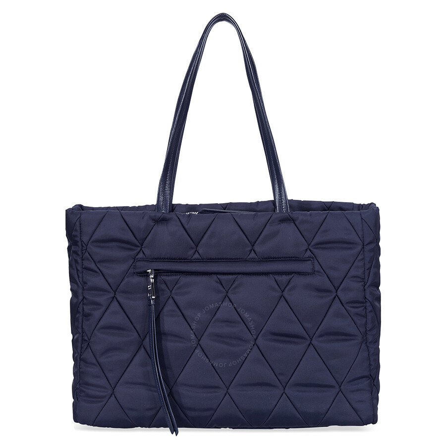 3f3cf3573a ... new zealand prada medium quilted nylon tote bag navy blue e8b5c 3ef89  ...