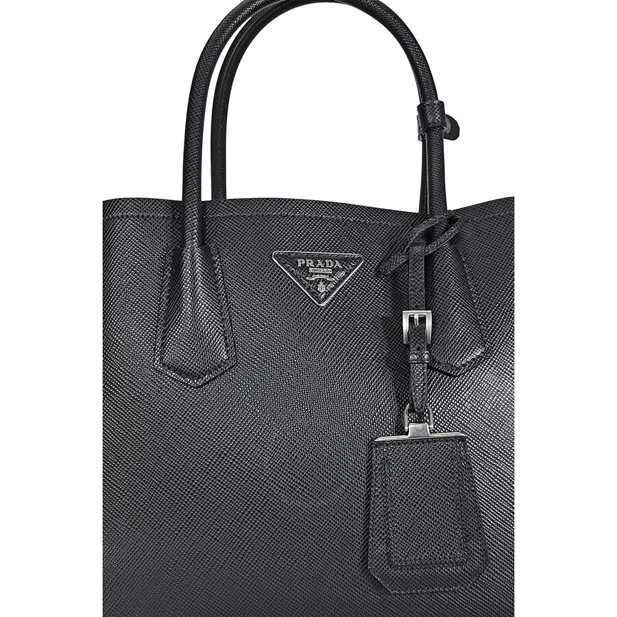 62c4b259c0de ... canada prada medium saffiano leather shoulder bag black 50c59 222b4  discount ...