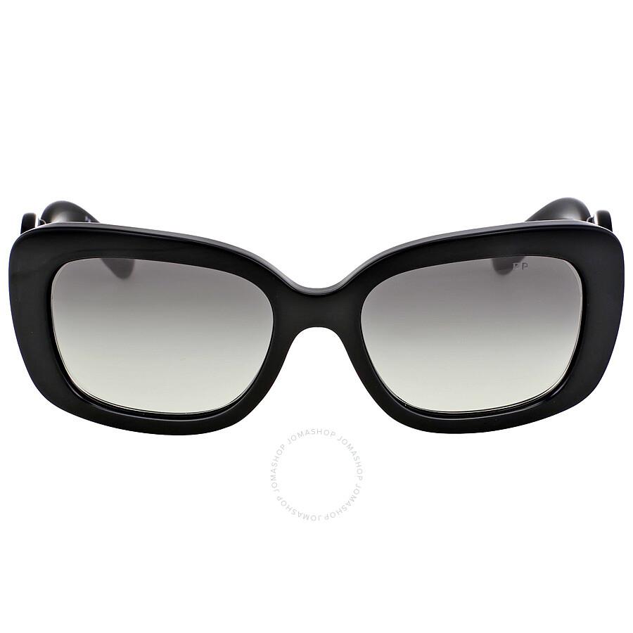 dc2c5821dd Prada Minimal Baroque Black Sunglasses PR 27OS-1AB3M1-54 - Prada -  Sunglasses -
