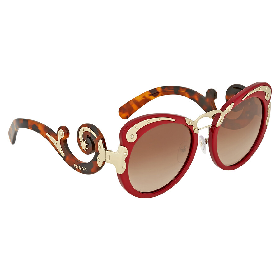 d257e19233 Prada Minimal Baroque Red Sunglasses Prada Minimal Baroque Red Sunglasses  ...