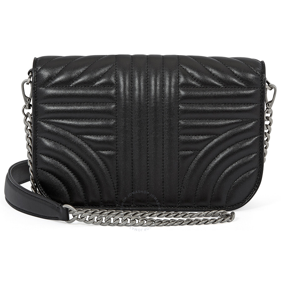 7b09070f Prada Nappa Leather Shoulder Bag- Black - Prada - Handbags - Jomashop