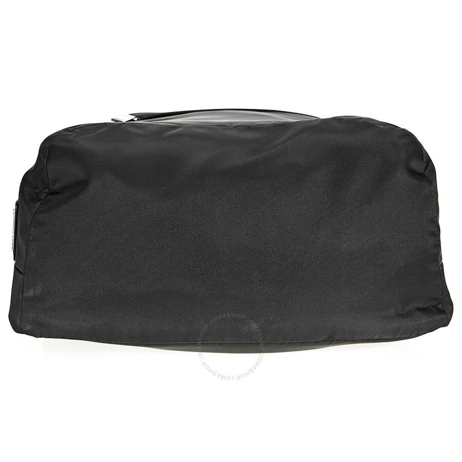Prada Nylon Backpack- Black - Prada - Handbags - Jomashop e8c32a1d7a